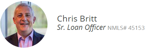 Chris Britt Sr. Loan Officer NMLS# 45153